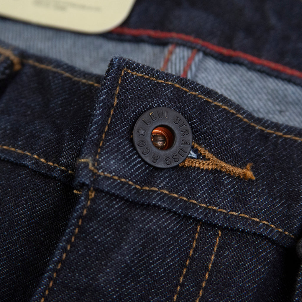 Levis Skateboarding 511 Slim Jeans in Indigo Warp Rinse - Button