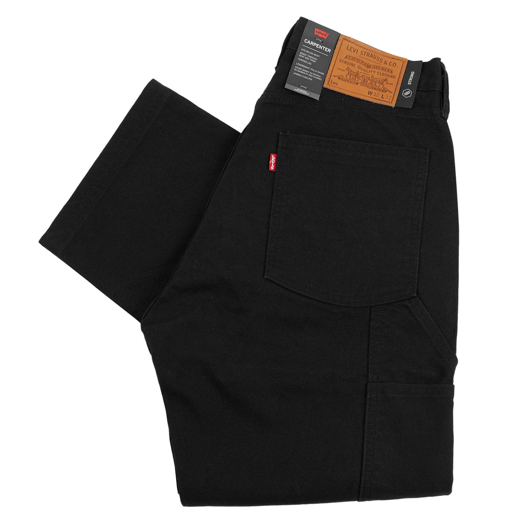 Levis Skateboarding Carpenter Pant in Black Canvas
