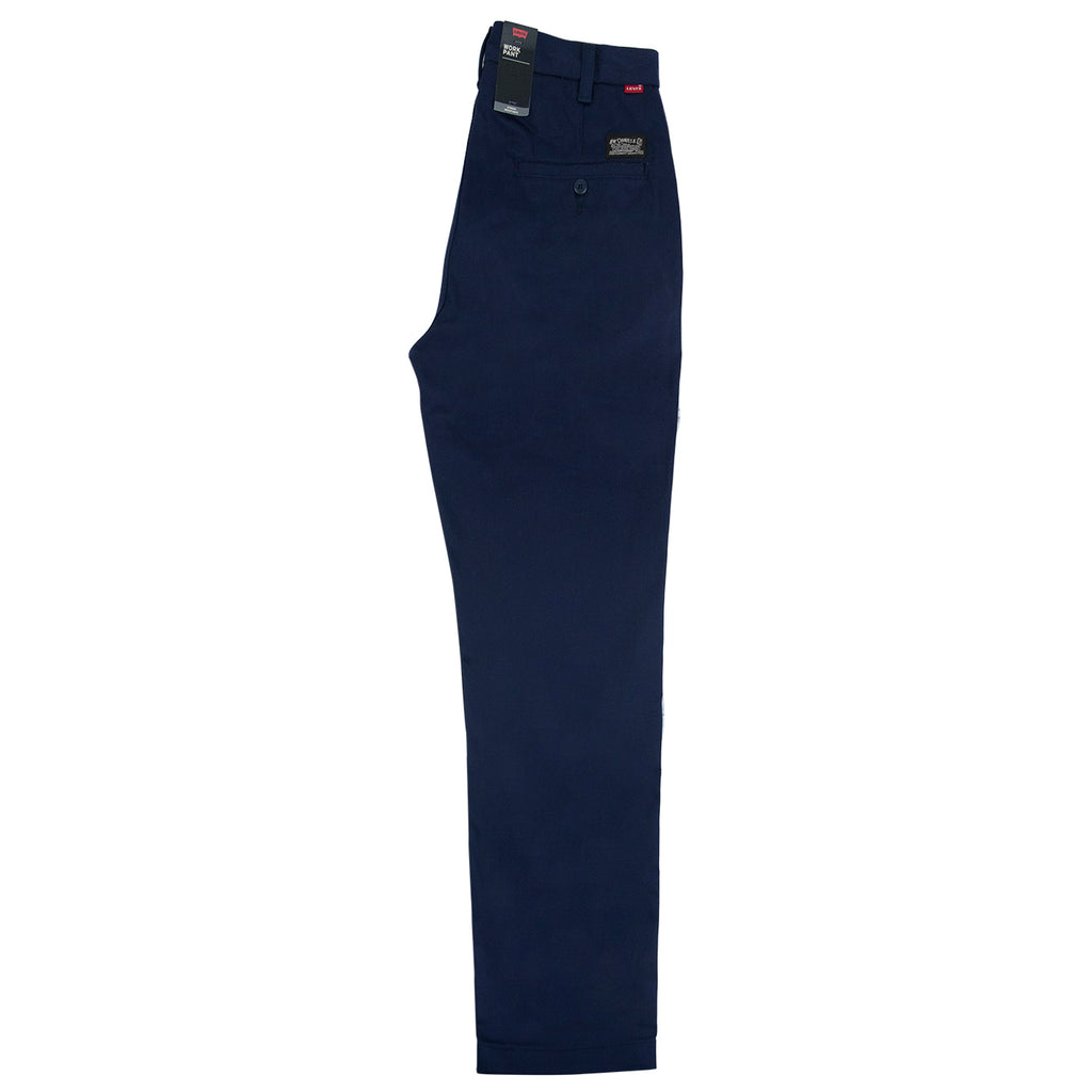Levis Skateboarding Work Pant in Navy - Leg