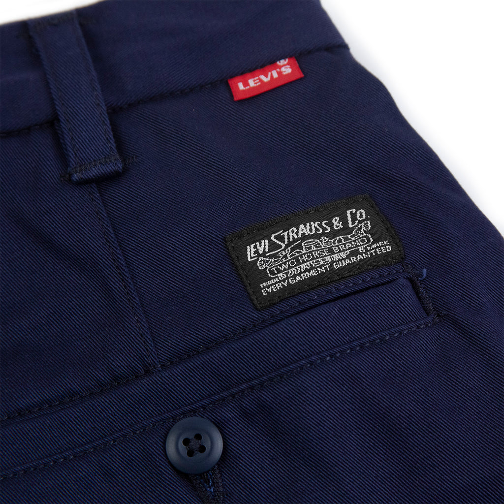 Levis Skateboarding Work Pant in Navy - Label