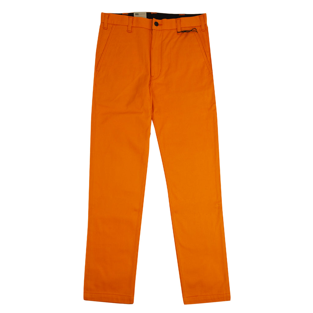 Levis Skateboarding Work Pant in Vibrant Orange - Open