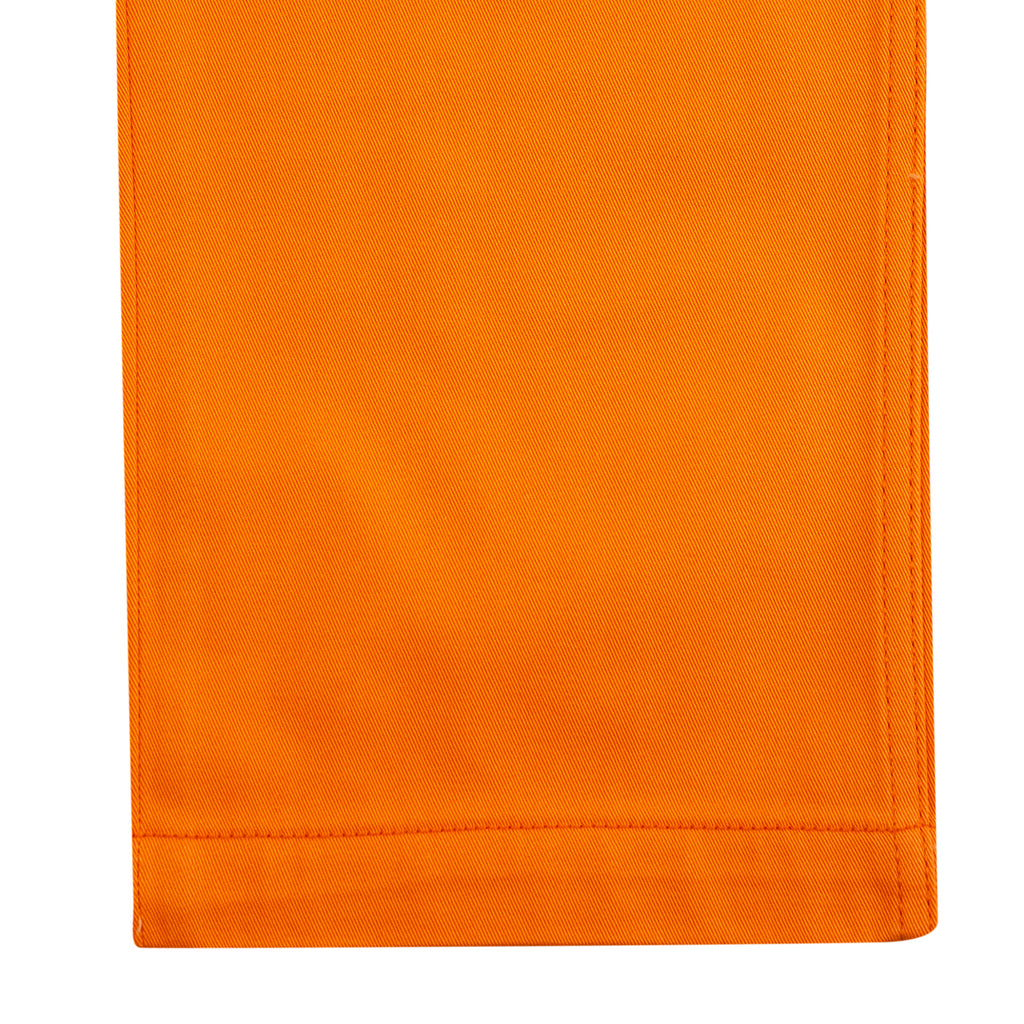 Levis Skateboarding Work Pant in Vibrant Orange - Cuff