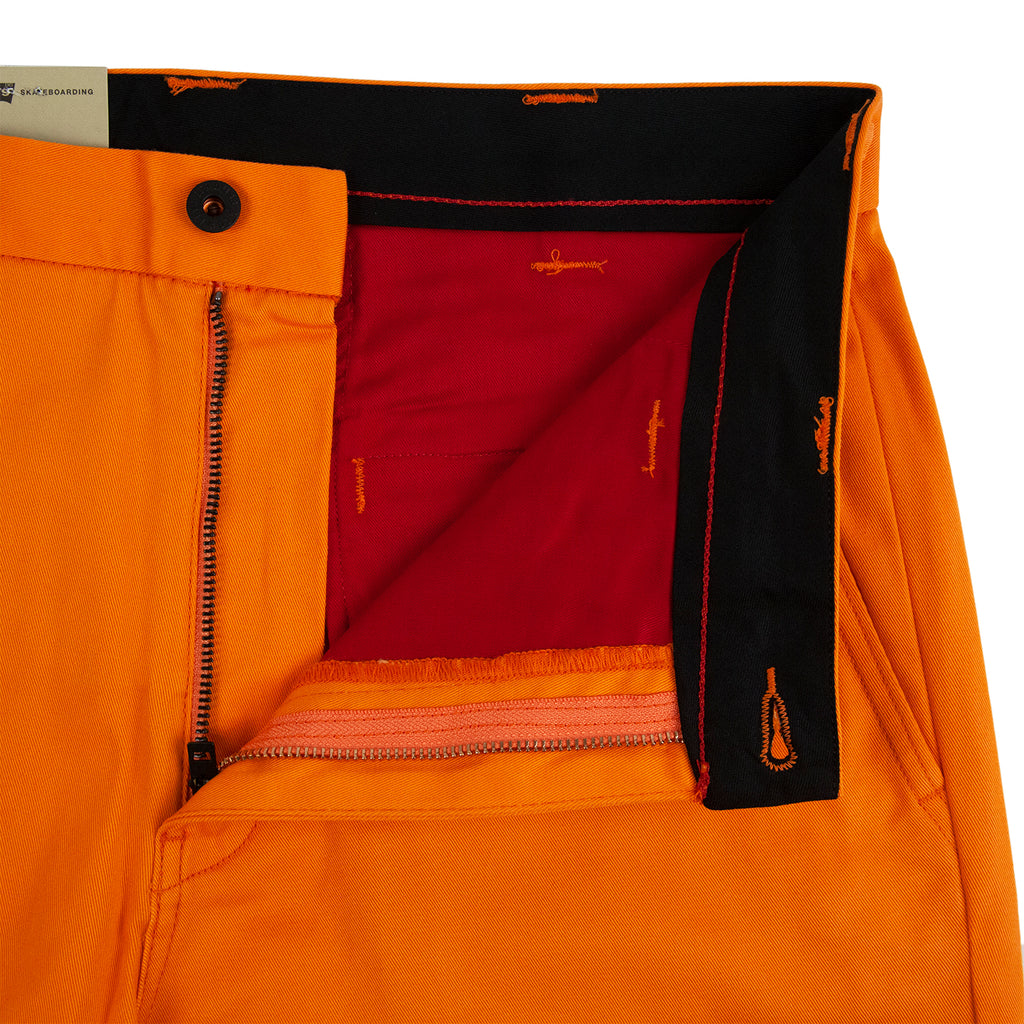 Levis Skateboarding Work Pant in Vibrant Orange - Unzipped