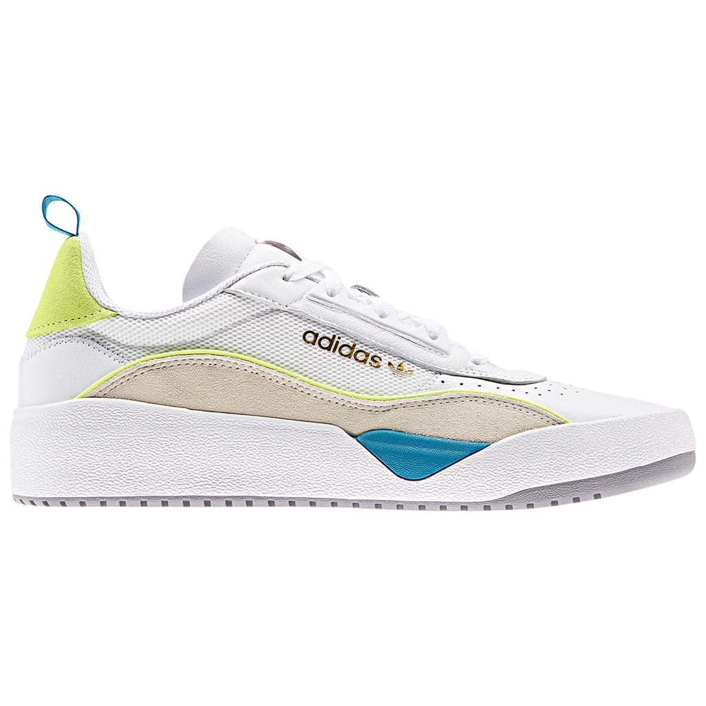 Adidas Liberty Cup Shoes in Footwear White / Chalk White / Hi-Res Yellow
