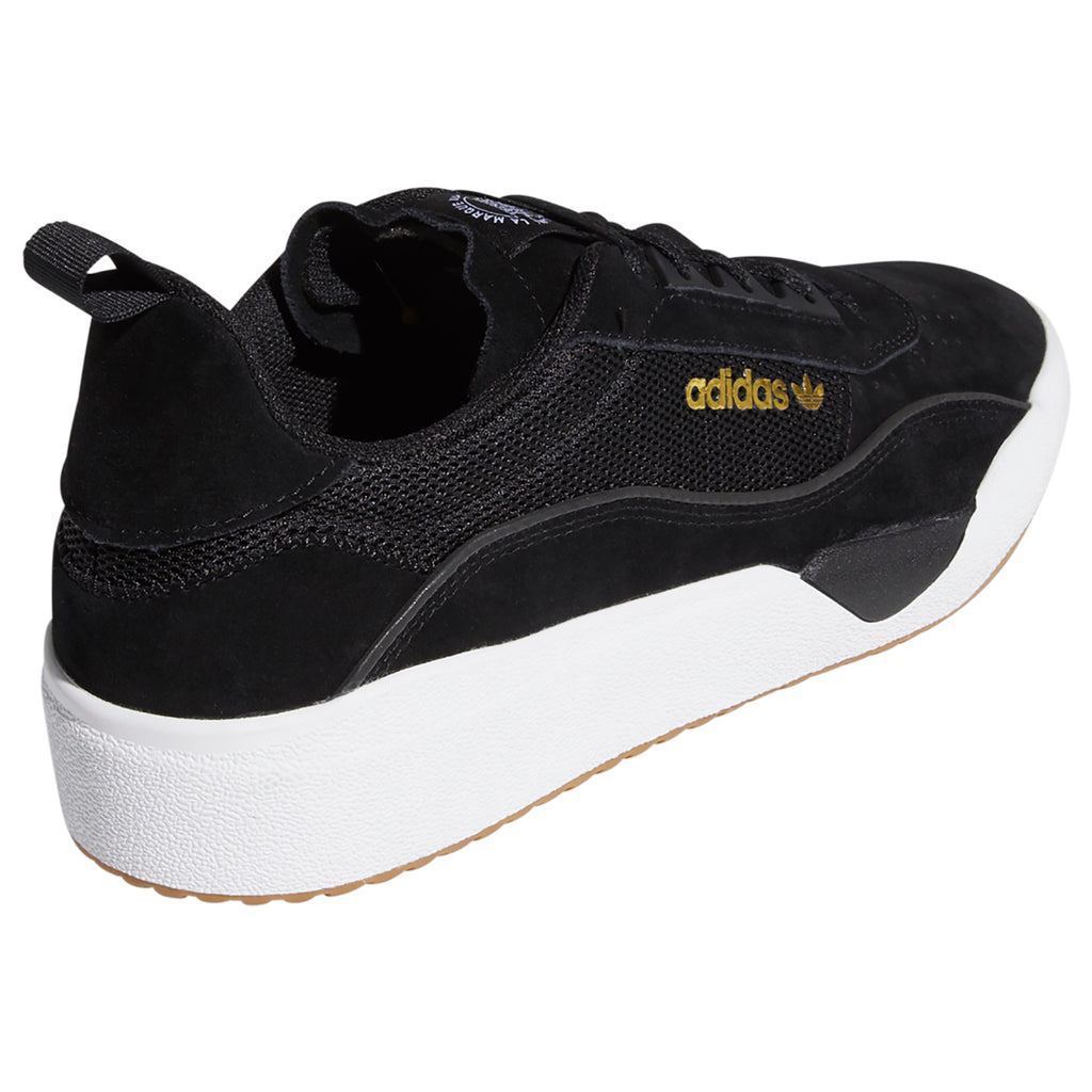 Adidas Liberty Cup Shoes in Core Black / White / Gum - Heel