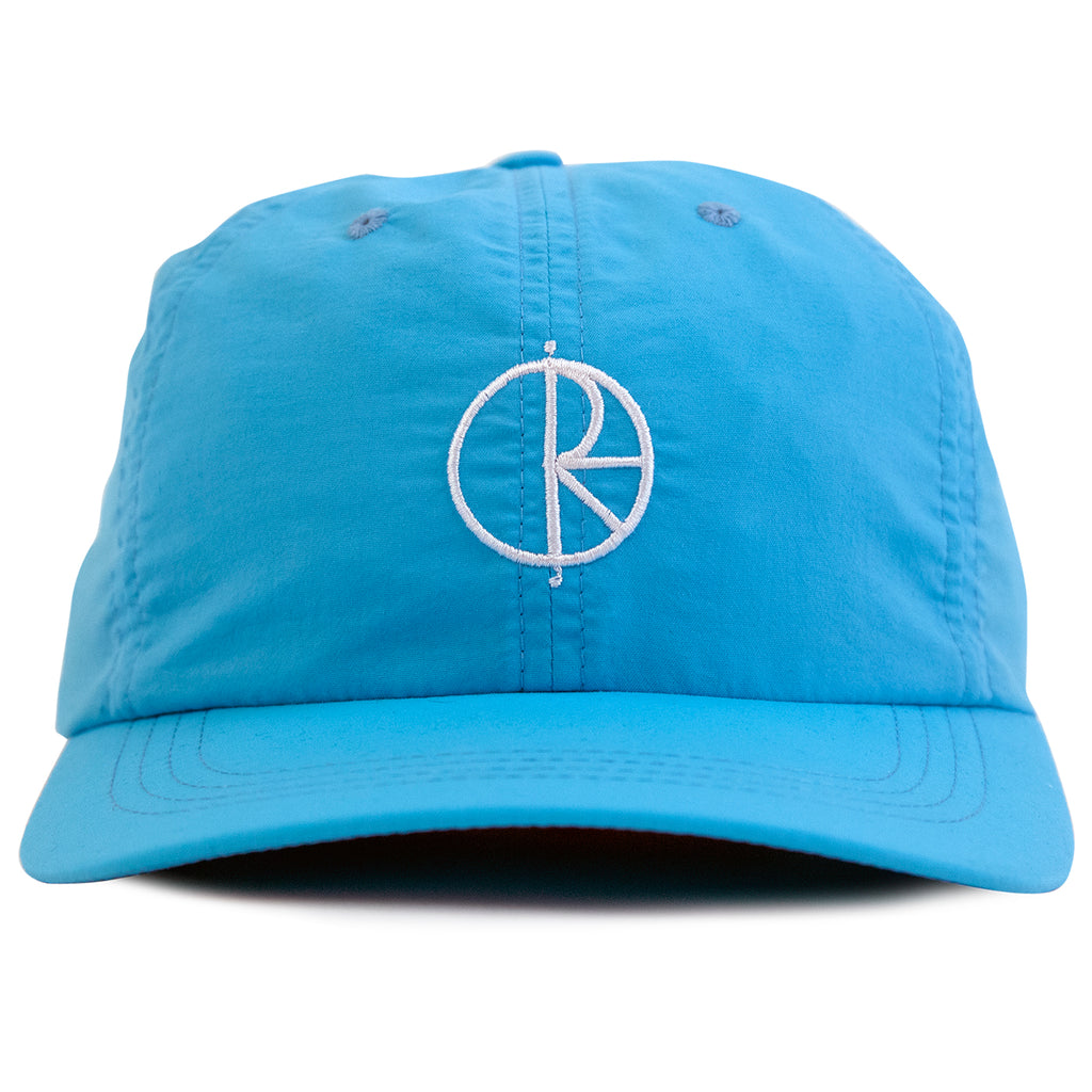 Polar Skate Co Lightweight Cap in Cyan - Front