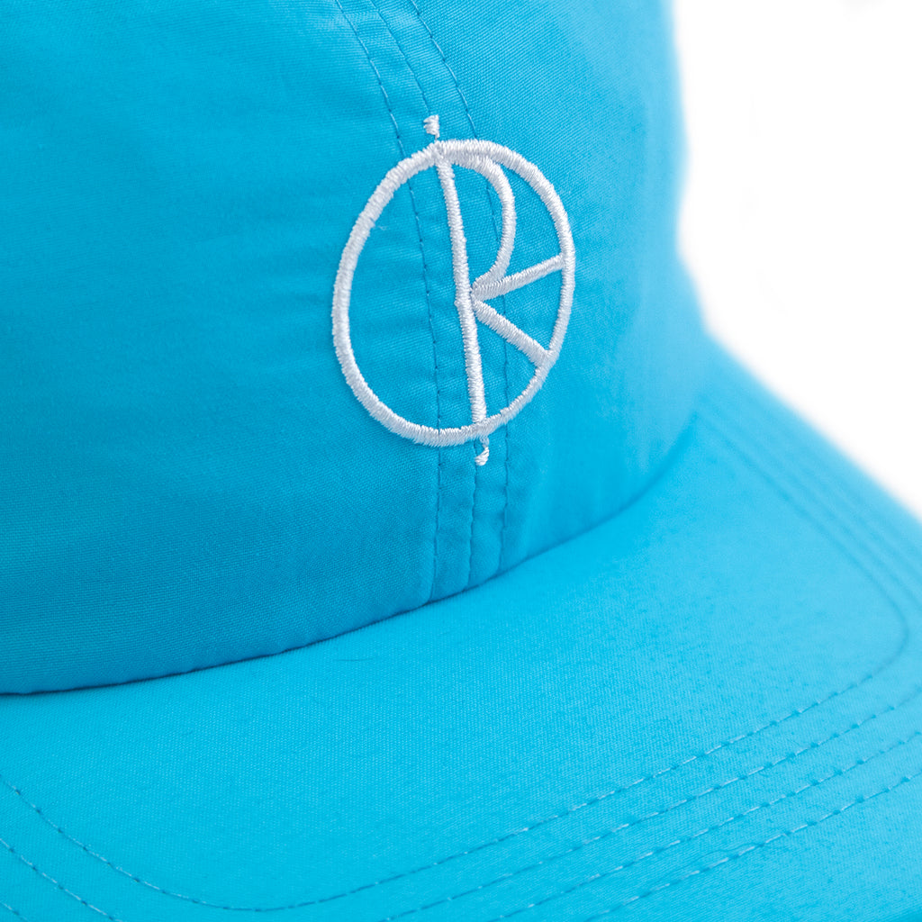 Polar Skate Co Lightweight Cap in Cyan - Logo