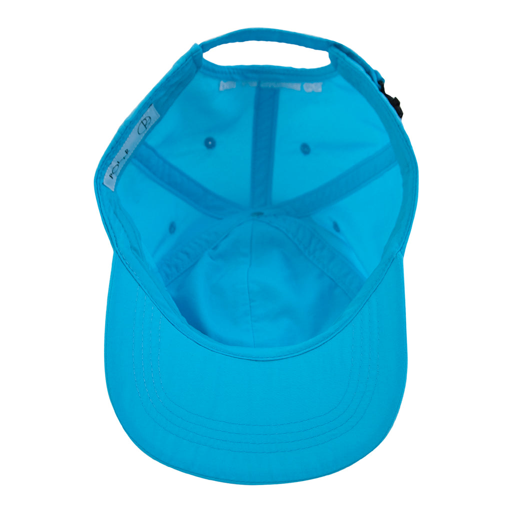 Polar Skate Co Lightweight Cap in Cyan - Inside