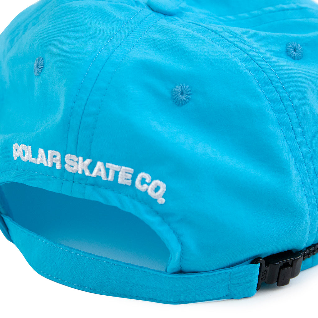 Polar Skate Co Lightweight Cap in Cyan - Back