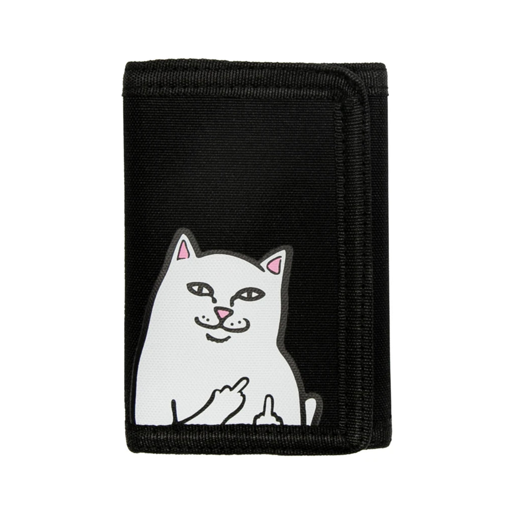 RIPNDIP Lord Nermal Velcro Wallet in Black