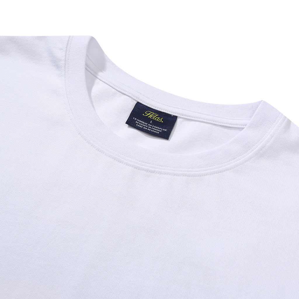 Helas Mexico T Shirt in White - Detail