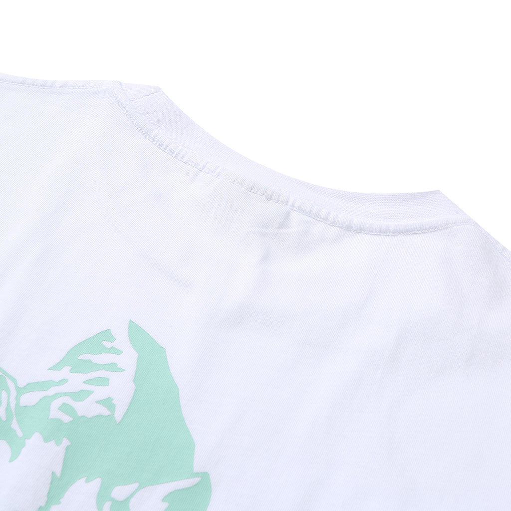 Helas Montagne T Shirt in White - Back Neck