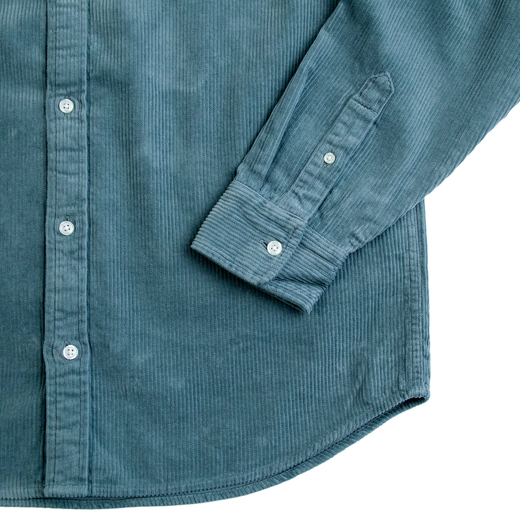 Carhartt L/S Madison Cord Shirt in Cloudy / Flour - Cuff