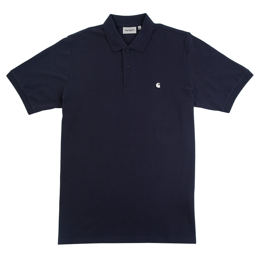 Carhartt Madison Polo Shirt in Dark Navy / Wax