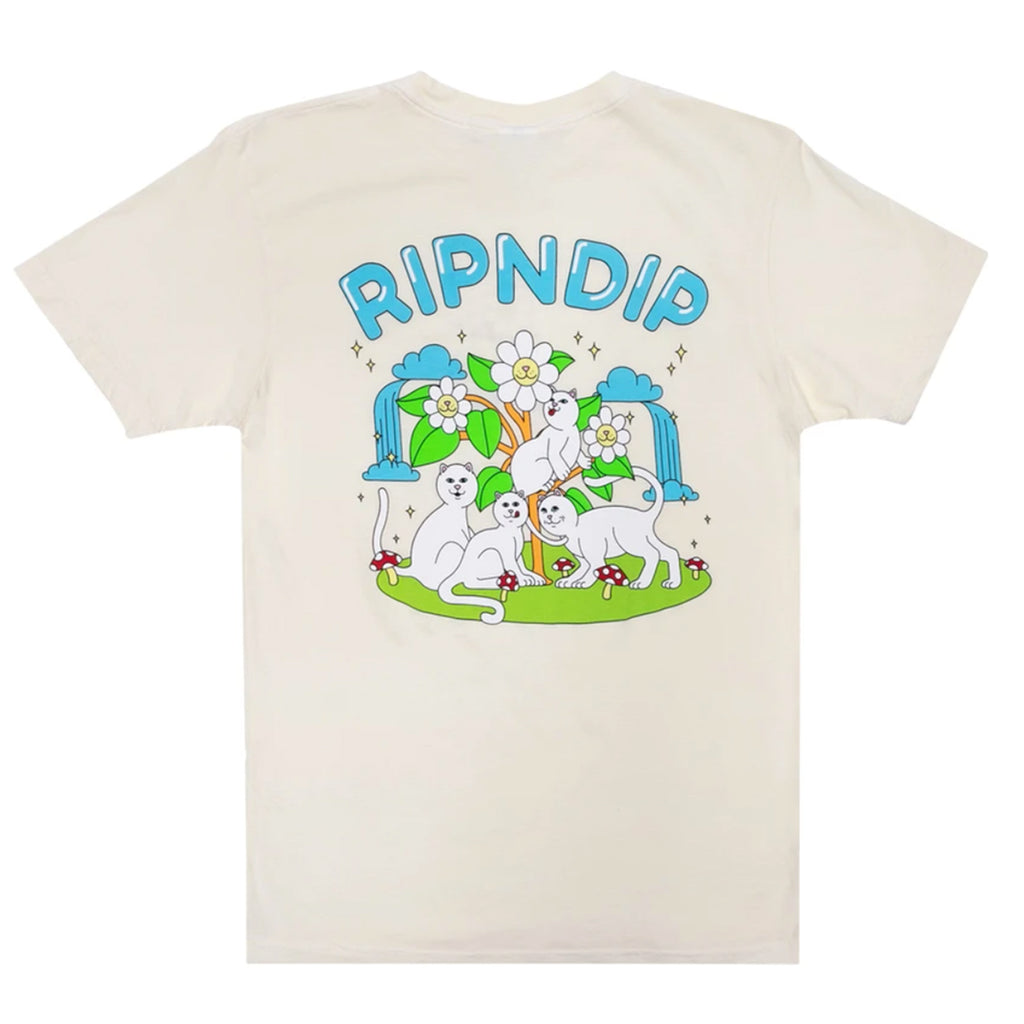 RIPNDIP Magical Place T Shirt in Natural