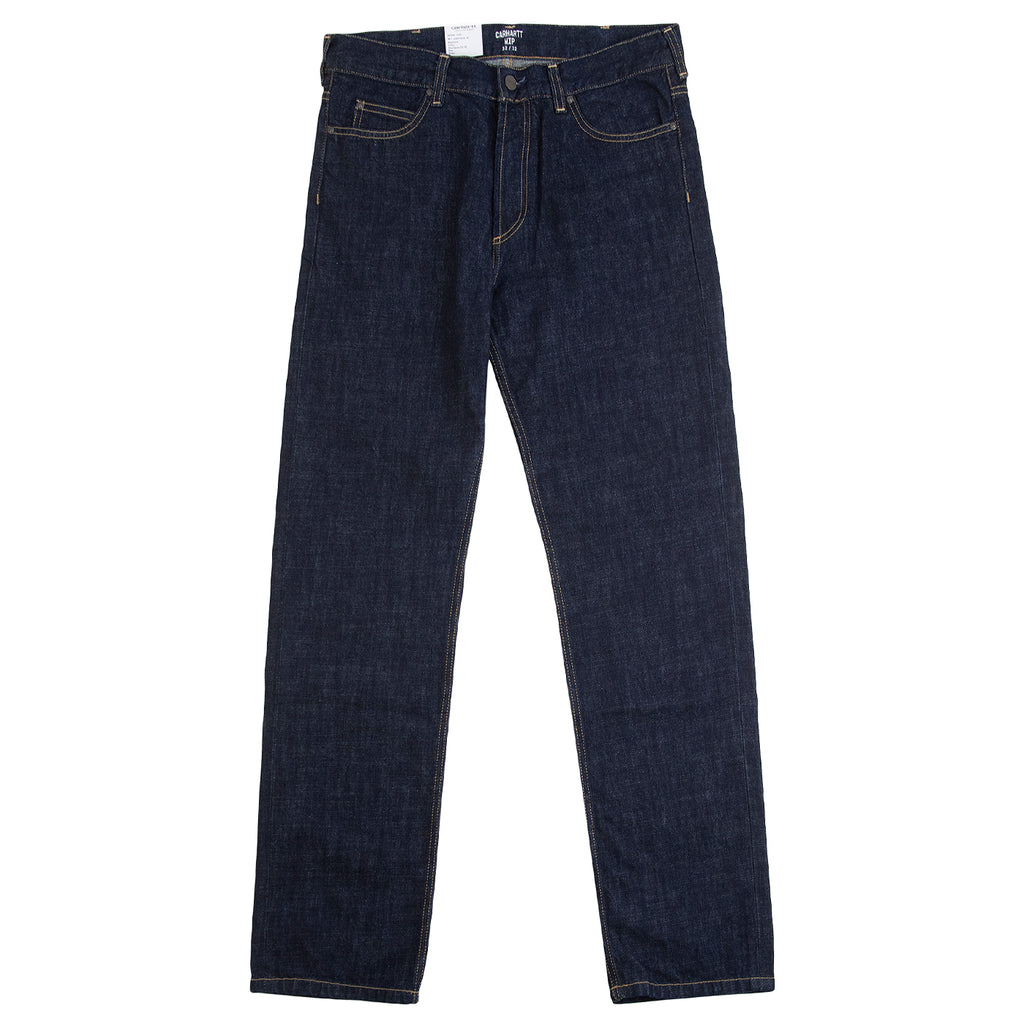 Carhartt WIP Marlow Pant in Blue Denim Rinsed - Open