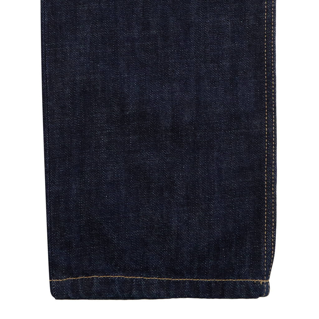 Carhartt WIP Marlow Pant in Blue Denim Rinsed - Cuff