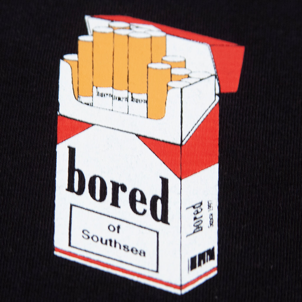 Bored of Southsea Marly T Shirt in Black - Print