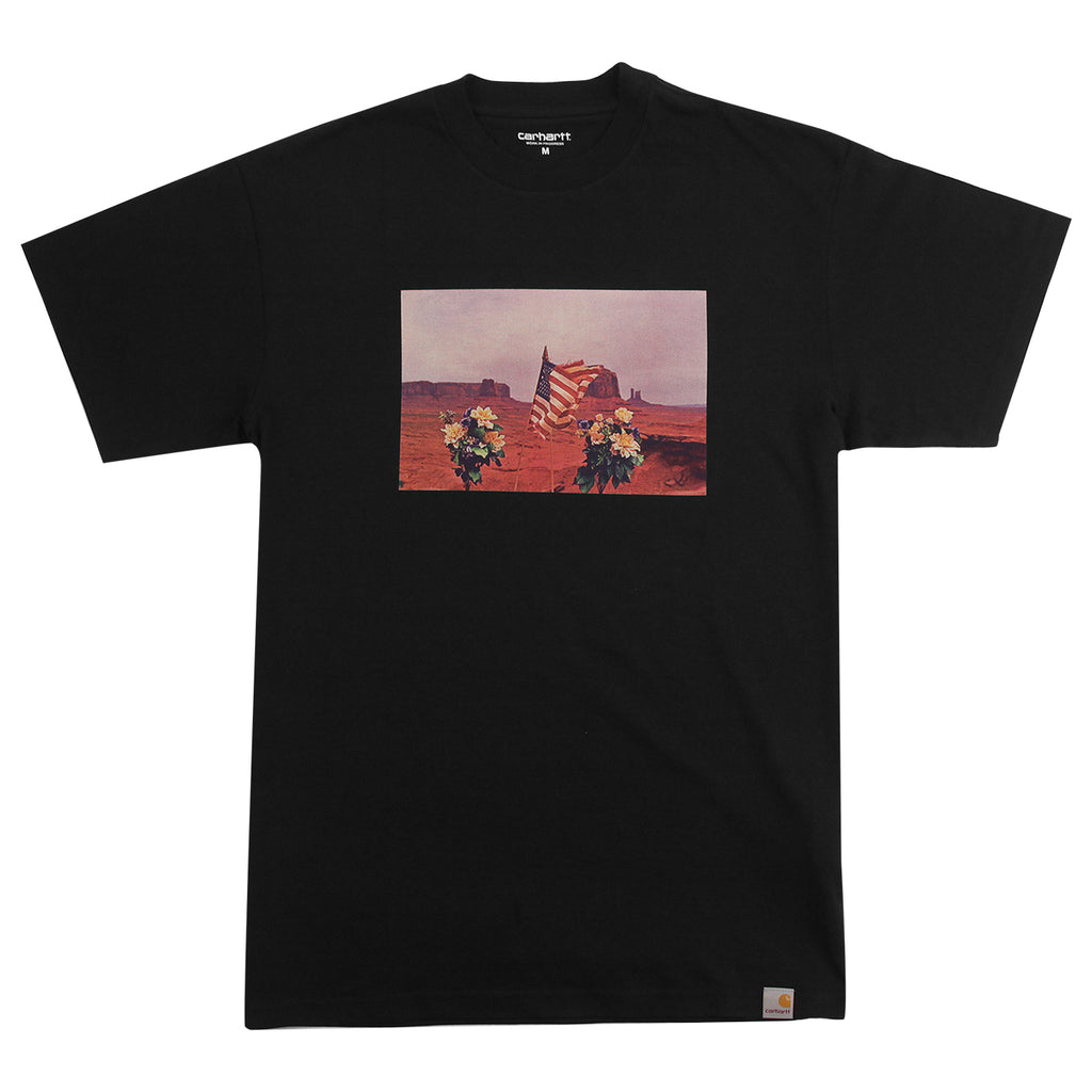 Carhartt WIP Matt Martin Flags T Shirt in Black