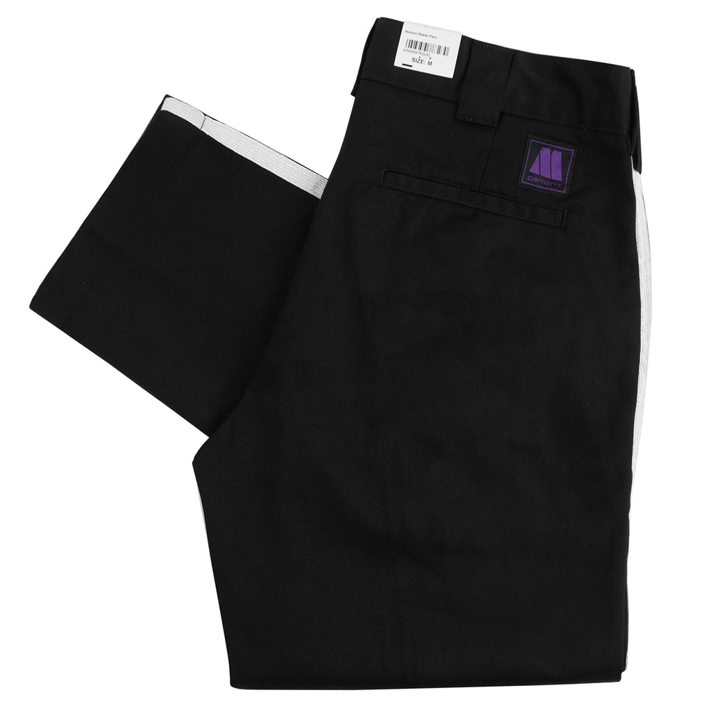 Carhartt WIP x Motown Master Pant in Black / Off-White