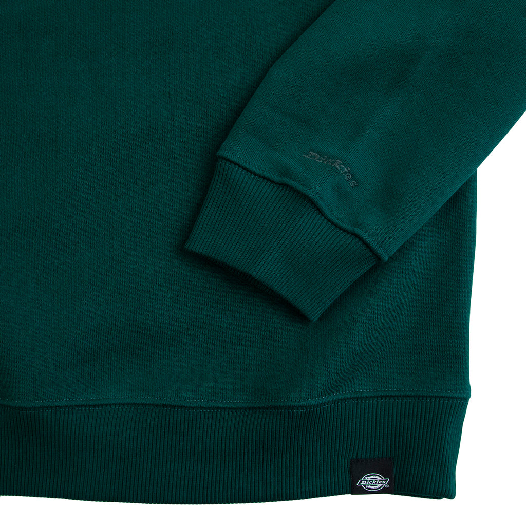 Dickies Mount Sherman Sweatshirt in Forest - Cuff