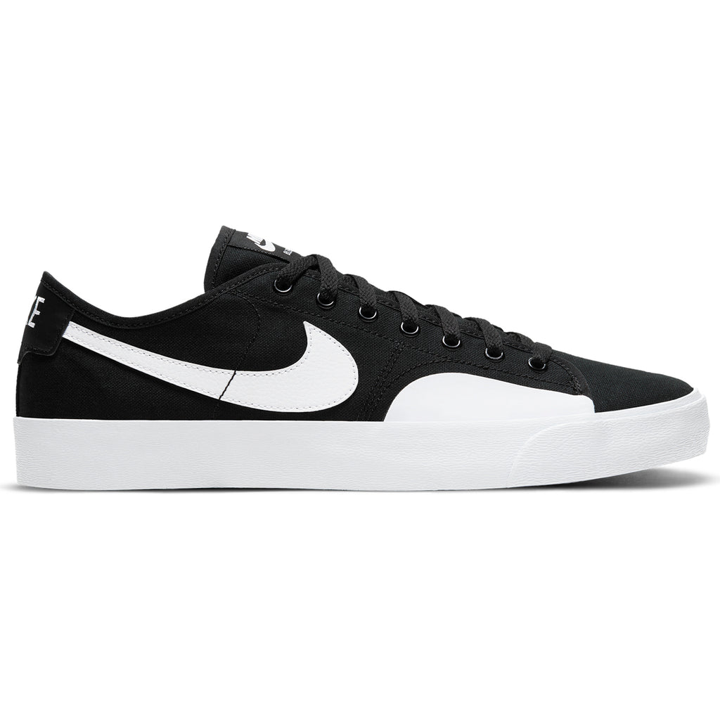 Nike SB Blzr Court Shoes - Black / White - Black