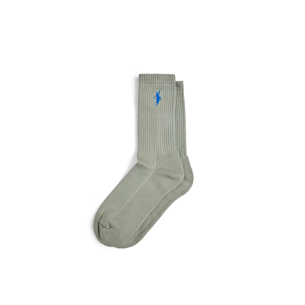 Polar Skate Co No Comply Socks in Smoke