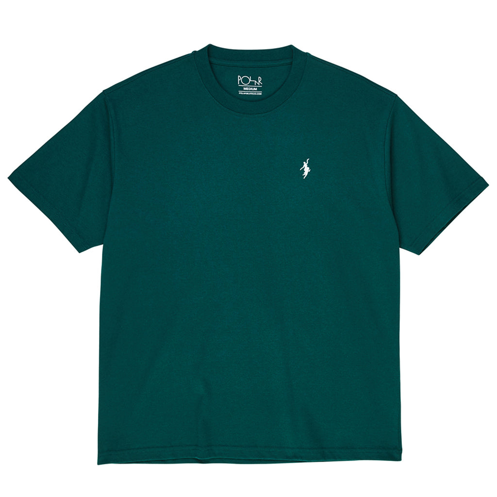 Polar Skate Co No Comply T Shirt in Dark Green