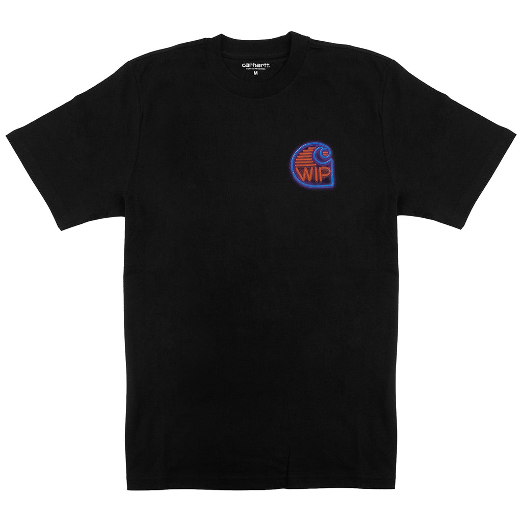 Carhartt WIP Neon Crab T Shirt in Black - Front