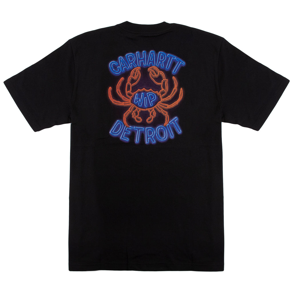 Carhartt WIP Neon Crab T Shirt in Black