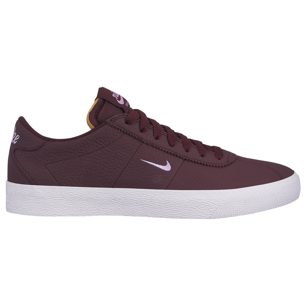 Nike SB Zoom Bruin Shoes in Mahogany / Violet Star