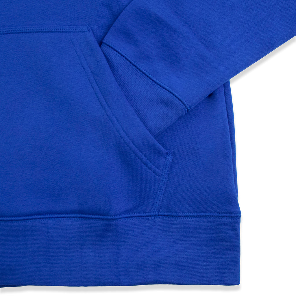 Nike SB Icon Hoodie in Game Royal / White - Pocket
