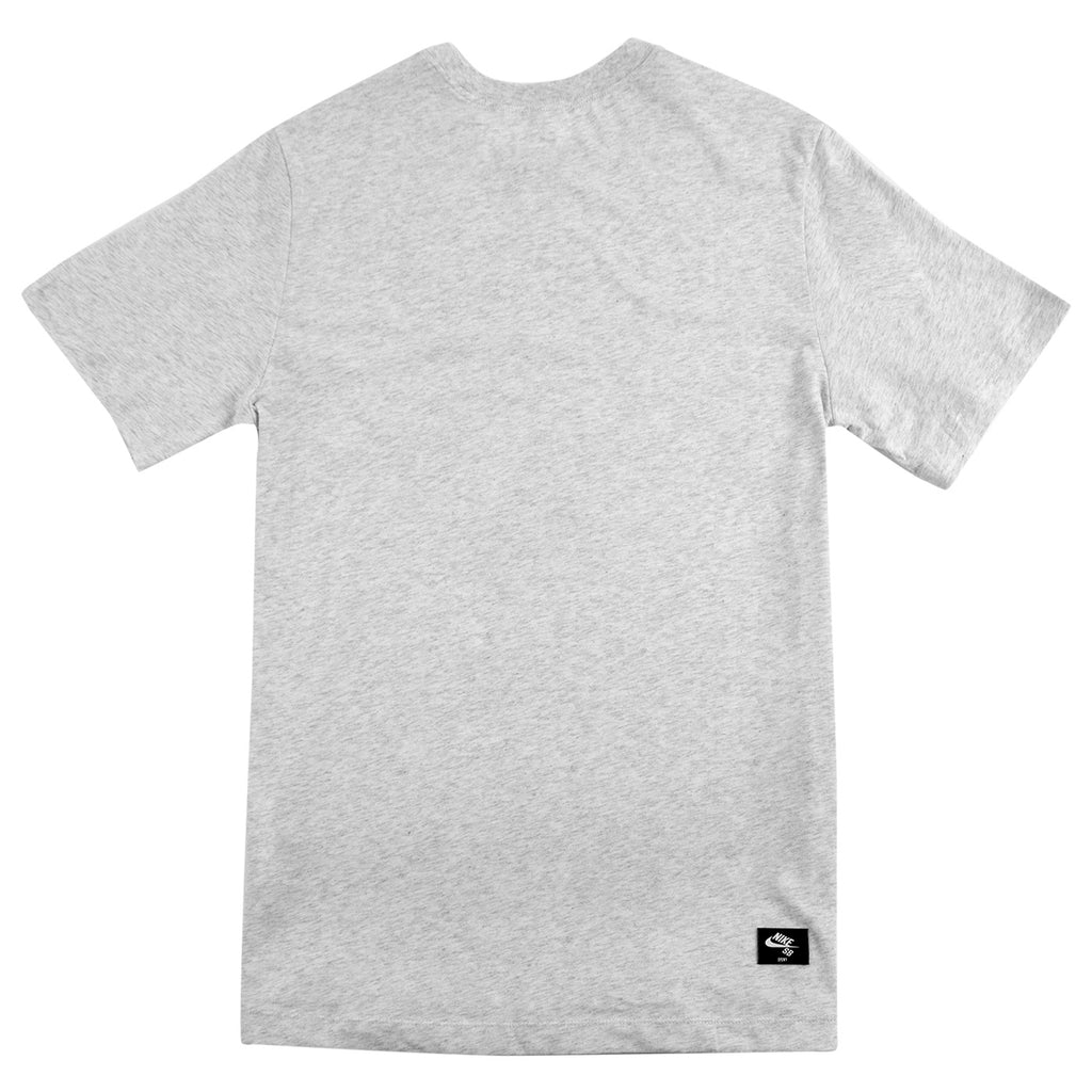 Nike SB Orange Label x Oski T Shirt in Birch Heather - Back