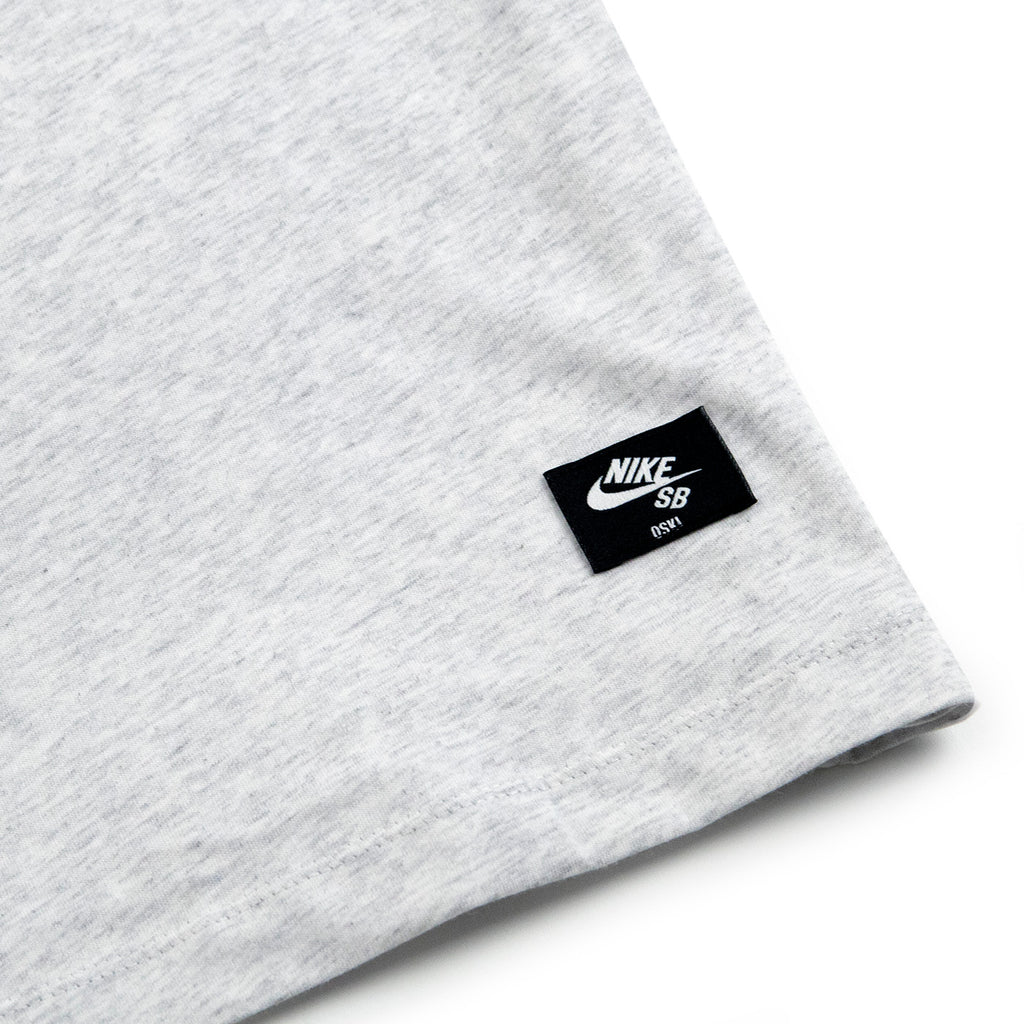 Nike SB Orange Label x Oski T Shirt in Birch Heather - Label
