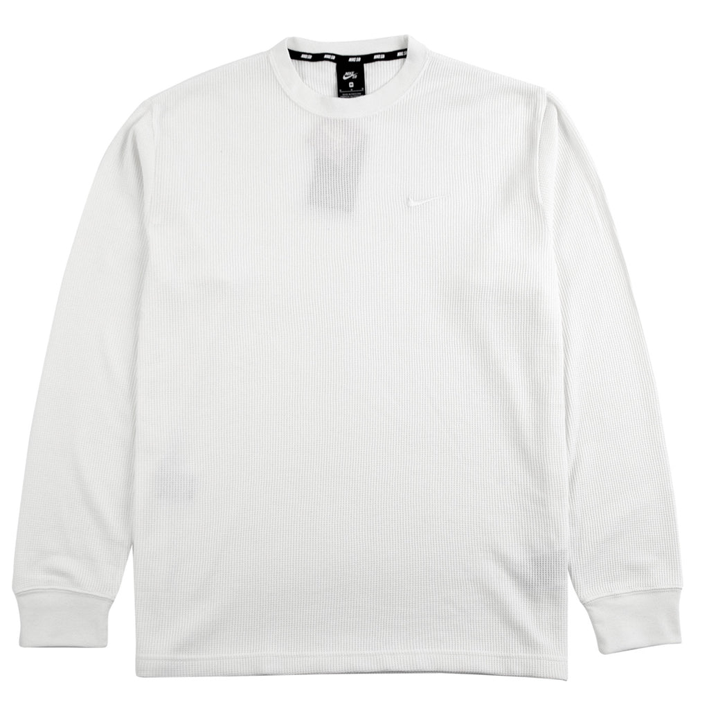 Nike SB Orange Label x Oski L/S Waffle Top in Sail / White