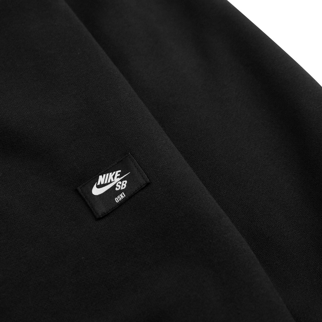 Nike SB Orange Label x Oski Zip Up Hoodie in Black / University Red - Back Label