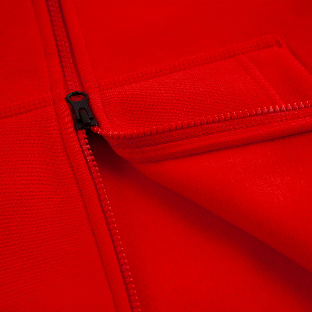 Nike SB Orange Label x Oski Zip Up Hoodie in University Red / Sail - Zip