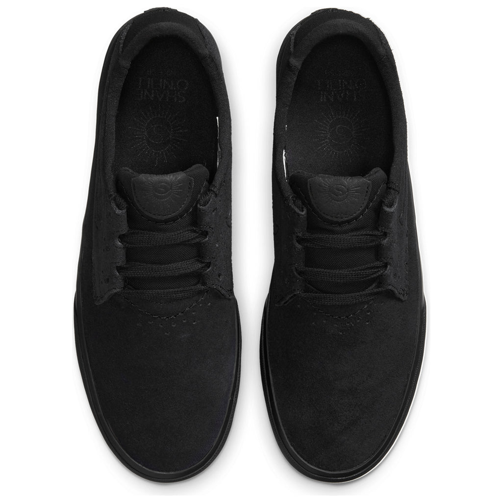 Nike SB Shane Shoes in Black / Black - Top