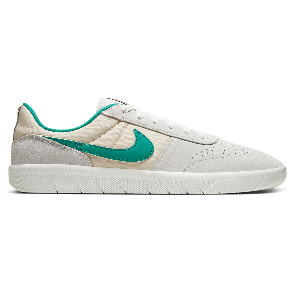 Nike SB Team Classic Shoes in Photon Dust / Neptune Green - Light Cream