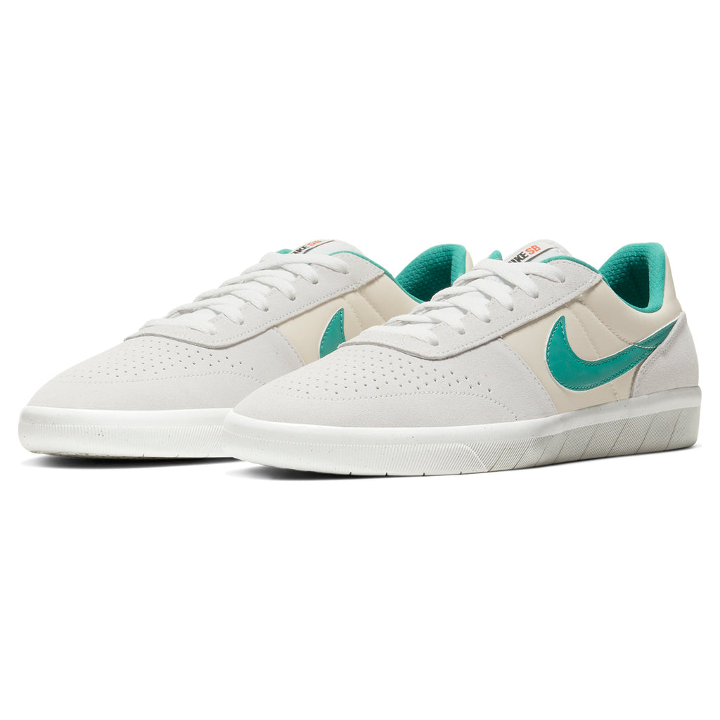 Nike SB Team Classic Shoes in Photon Dust / Neptune Green - Light Cream - Pair