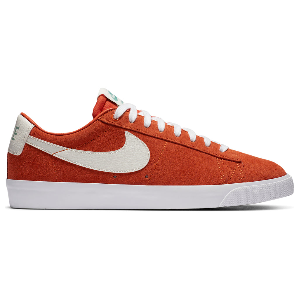 Nike SB Zoom Blazer Low GT Shoes - Starfish / Sail - Side profile
