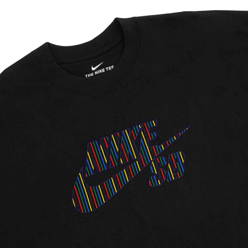 Nike SB BTS Logo T Shirt Black - Chest print