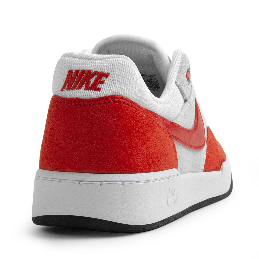 Nike SB GTS Return Premium Shoes in Sport Red / Sport Red - Pure Platinum - Black - Heel