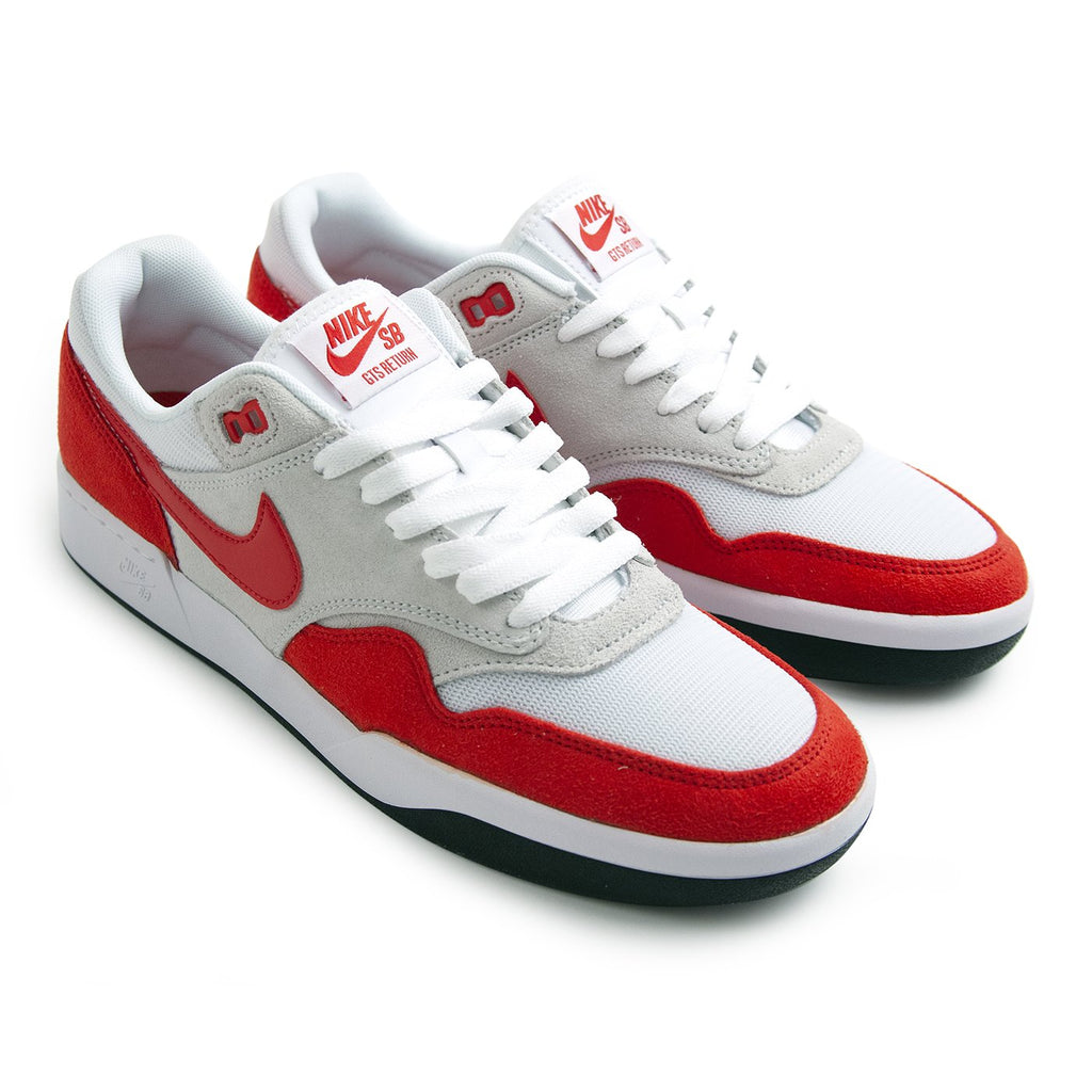 Nike SB GTS Return Premium Shoes in Sport Red / Sport Red - Pure Platinum - Black - Pairs
