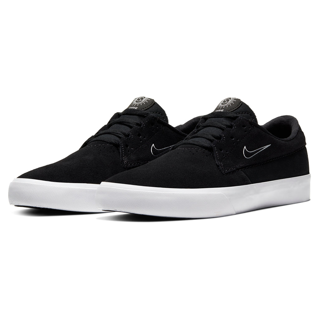 Nike SB Shane Shoes in Black / White - Black - Pair