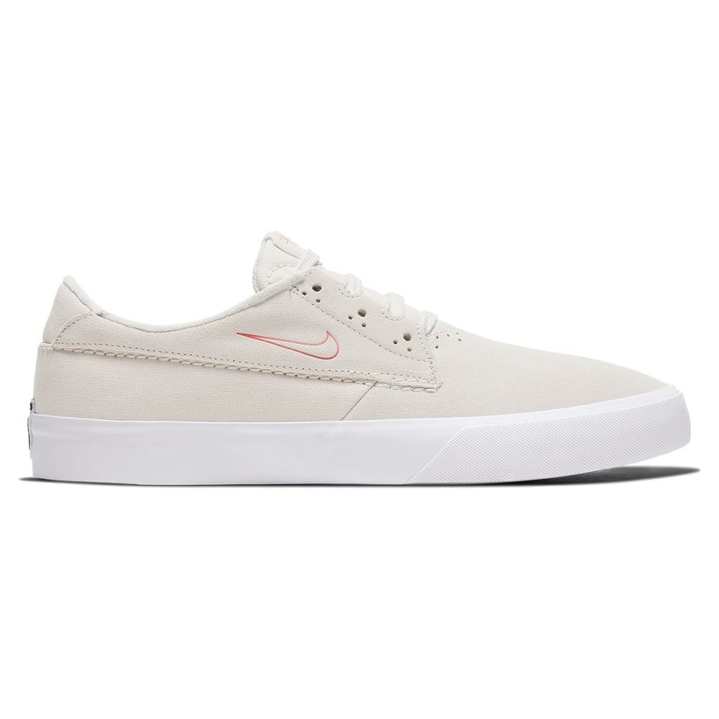 Nike SB Shane Shoes in Summit White / University Red - White
