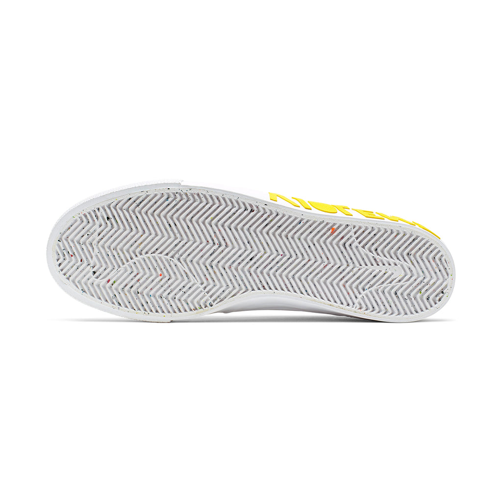 Nike SB Zoom Janoski RM x Violent Femmes Shoes in White / Clear - White - Tour Yellow - Sole