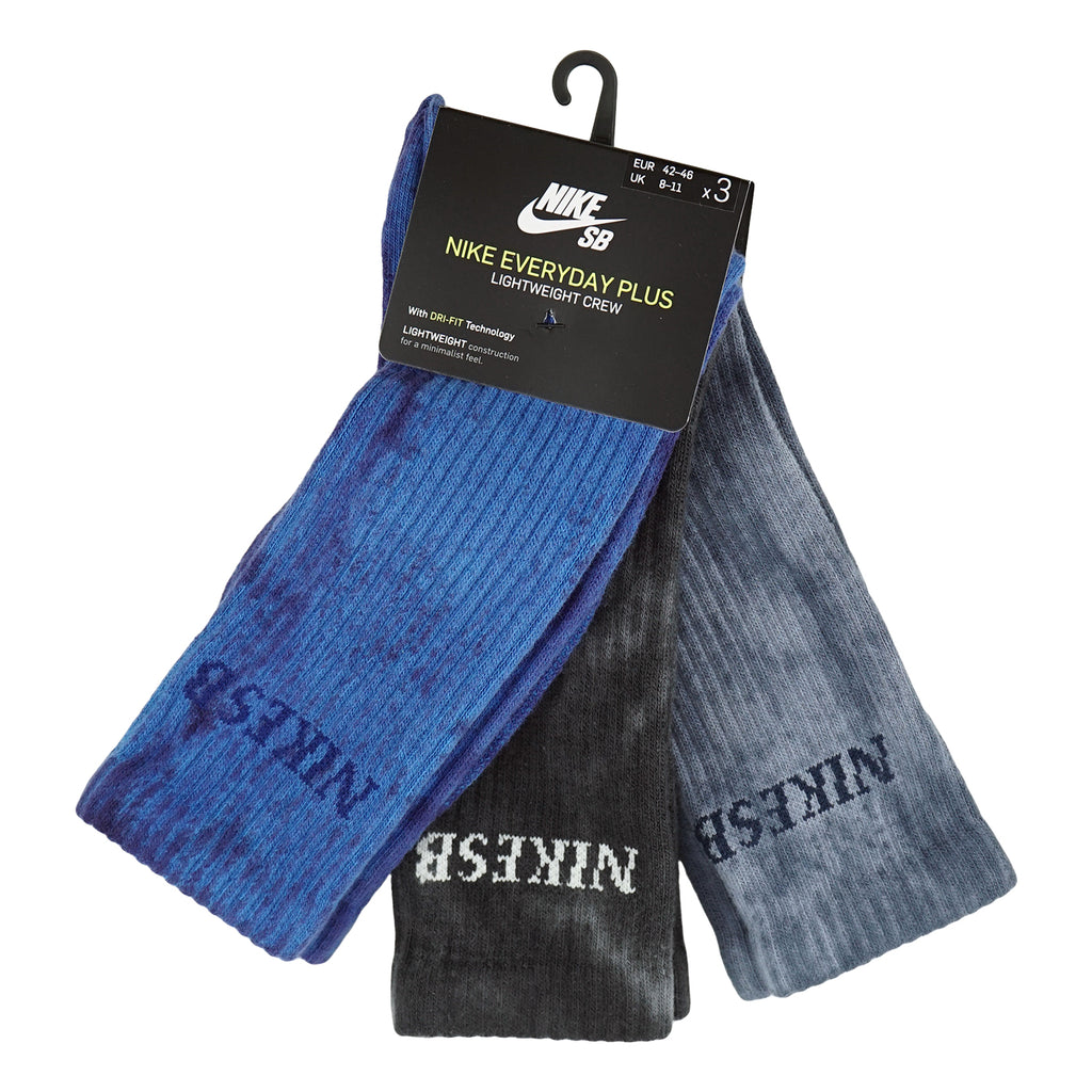 Nike SB Everyday Plus Lightweight Socks Multi - Front