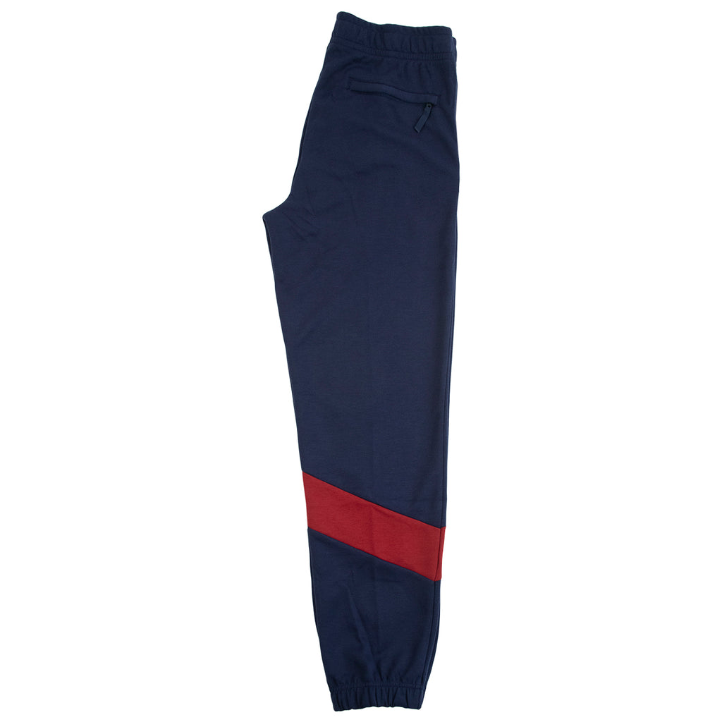 Nike SB Dri-FIT Icon Skate Track Pants in Obsidian / Team Red / Osidian / Team Red - Leg
