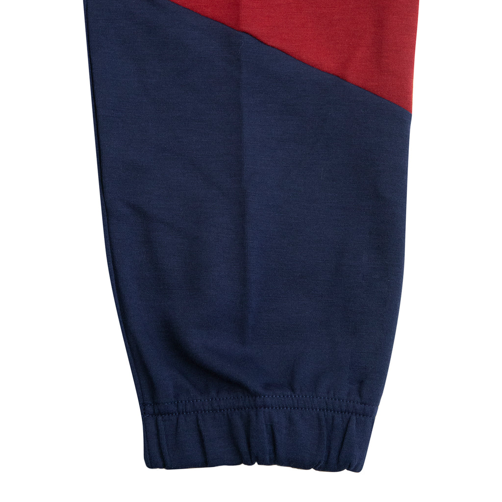 Nike SB Dri-FIT Icon Skate Track Pants in Obsidian / Team Red / Osidian / Team Red - Cuff